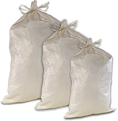 "Trademark Woven Polypropylene Sandbags 17""W x 27""L {100 pc.}"