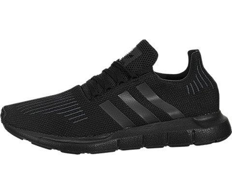 adidas Originals Men's SWIFT RUN Shoes,BLACK/UTILITY BLACK/B