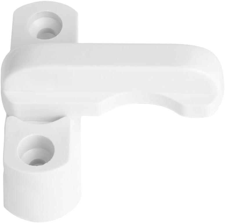 con manija de Bloqueo de Seguridad Extra Color Blanco de PVC UPVC BouT Cerradura de Seguridad para Puerta o Ventana Cierre de Seguridad para ni/ños