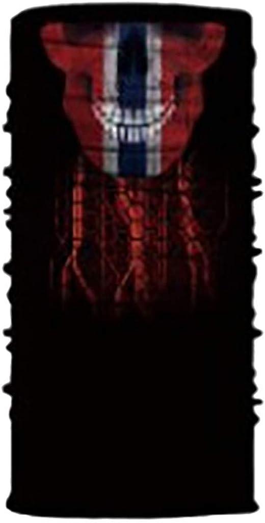 Bumplebee 3D Motorrad Halstuch Herren Damen Kopftuch Radfahren Schal Schlauchtuch Multifunktionstuch Stirnband Winddicht Motorradmaske Bandana Balaclava UVSchutz