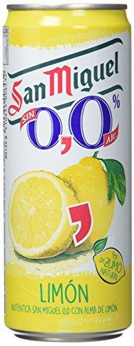 San Miguel Cerveza Limon – Paquete de 24 x 330 ml – Total: 7920 ml