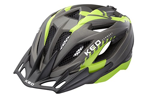 KED Fahrradhelm Street Junior Two, Green Anthracite Matt, S, 16406284S