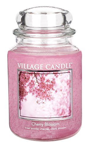 Village Candle Cherry Blossom Scented