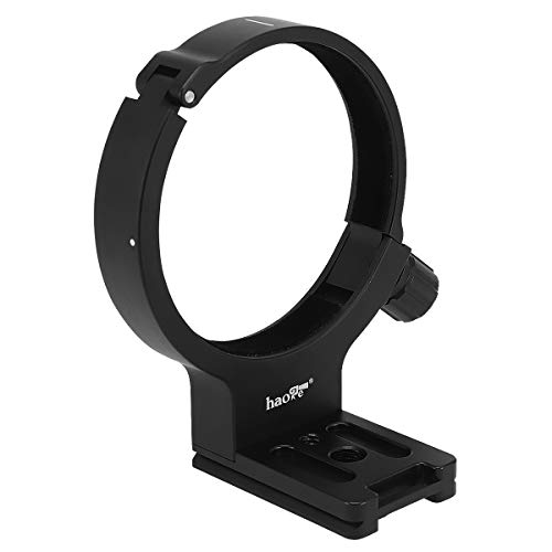 Haoge LMR-C273 Lens Collar Replacement Foot Tripod Mount Ring C for Canon EF 28-300mm f/3.5-5.6L is USM and EF 70-300mm f/4-5.6L is USM Lens Built-in Arca Type Plate