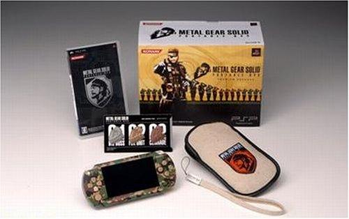 メタル ギア ソリッド ポータブル オプス プレミアム パック(PSP「プレイステーションポータブル」 カモフラージュ同梱)(VP033-J1)【メーカー生産終了】 B000K6ZTXW