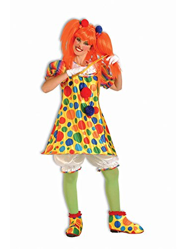 Forum Novelties Women's Giggles The Clown Costume, Multicolor, Standard]()