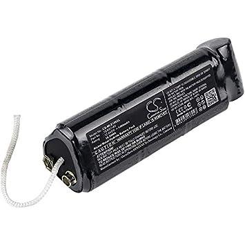 CS-MLE100SL Batería 1400mAh Compatible con [MINELAB] Excalibur 1000, Excalibur 800 Metal