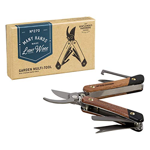 Garden Multi-Tool Acacia wood & Titanium Finish