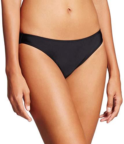 (Xhilaration Women's Cheeky Bikini Bottom (Black, X-Large) )