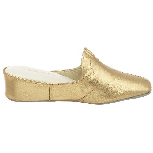 Women's Kidskin Gold Glamour Green Slipper Daniel 5nzWfTqw