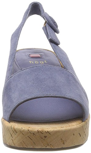 HÖGL Women's 5-10 3212 Flatform Sandals Blue (Jeans) free shipping exclusive outlet sale isMjwsV3Q