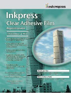 Supply Spot offers Inkpress Adhesive Clear Film, 17