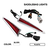 Motorcycle Rear Saddlebag LED Accents Light Signal Tail Light For Victory Cross Country Tour Magnum Hard-Ball Roads Hard-Ball