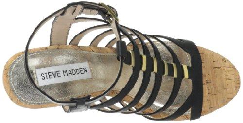 Steve Madden Keil Sandalette Indyanna schwarz EU 36 (US 6)