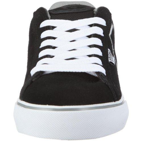 Etnies Mens Fader Vulc Skate Schoen Zwart / Wit / Grijs