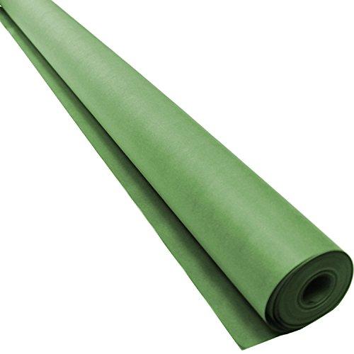Pacon Rainbow Lightweight Duo-Finish Kraft Paper Roll, 3-Feet by 1000-Feet, Lite Green - Green Lite