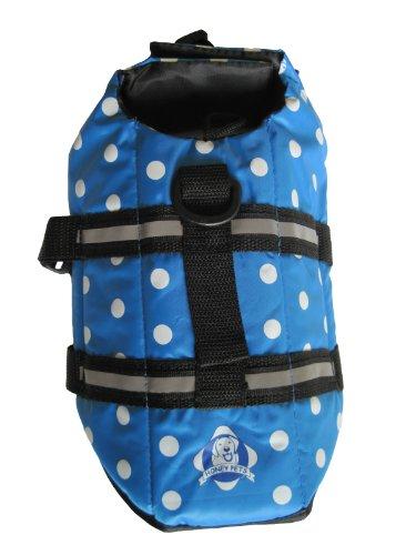 Vedem Dog Polka Dot Life Jackets Blue (S)
