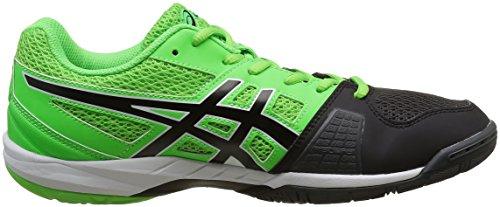 Asics Herren Gel Blade 5 Handballschuhe Mehrfarbig (Green Gecko/Black/Dark Grey)