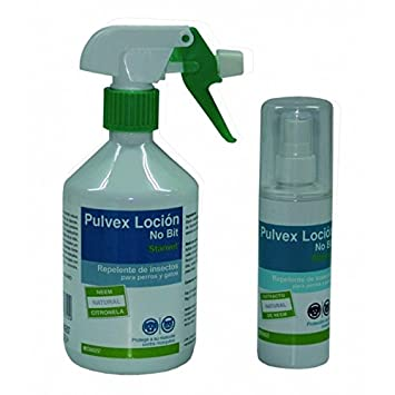 Pulvex Loción Repelente. Perros y gatos. Spray 125 mls: Amazon.es: Productos para mascotas