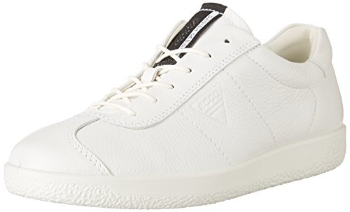 Men's Marron 1 Homme Soft White Basses Sneakers Ecco Blanc Bright OwEYHqxC