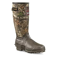"Field-tested. Sportsman approved. Guide Gear Men's 15"" Insulated Rubber Boots, 400 Grams. - Stay dry, warm and comfortable in cold, soupy, all-around-nasty conditions with our Guide Gear 15"" Insulated Rubber Boots. They have what it takes to ..."