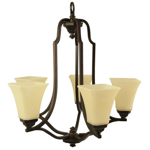 Good Earth Lighting Metropolitan 5-Light Direct Wire Chandelier