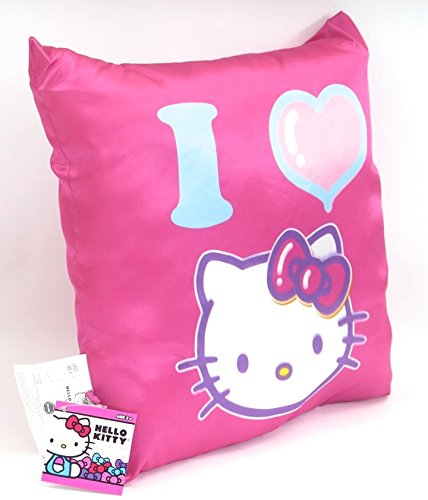 suncountry926 I Love Hello Kitty Pink Pillow, Soft and Warm. by suncountry926