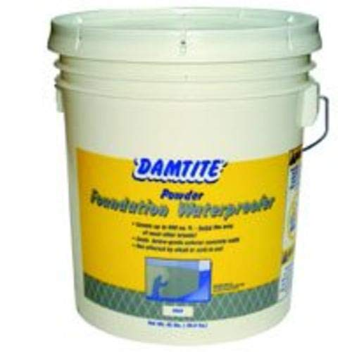 DAMTITE WATERPROOFING 02451 Maximum Coverage Gray Powder Waterproofer 45 lb Gray