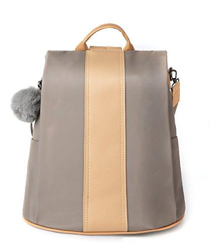 Women Backpack Nylon Anti-Theft Rucksack Bags Waterproof Fashion Lightweight Shoulder Baght Shoulder Bag by SteamedBun