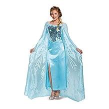 Disguise Costumes Women's Elsa Ultra Prestige Adult