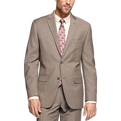 Alfani Red Slim Fit Blazer Khaki Solid New Men's Suit Sep. for cheap