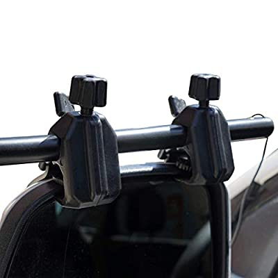 Homeon Wheels Clip-On Towing Mirrors, Universal Extended Mirrors and Extra Wide Adjustable Notice Applicable Vehicle Rearview Mirror is 0.59 inches Between Lens and Frame(Dual View): Automotive