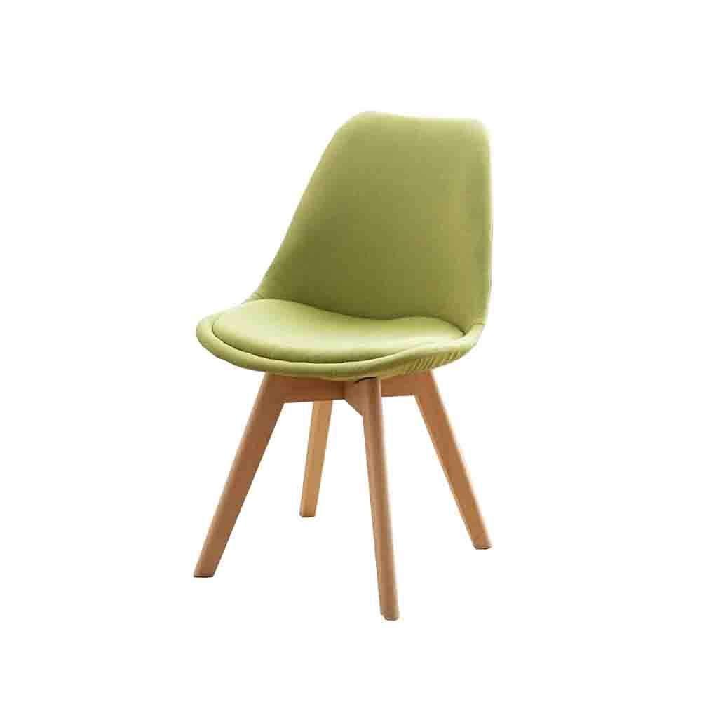 Amazon com qz home chair coffee chair creative chair dining chair solid wood modern creative can assembly comfortable color green chairs