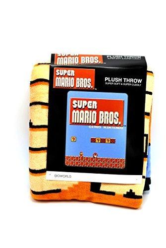 Bioworld Nintendo Super Mario Brothers NES Super Plush Th...