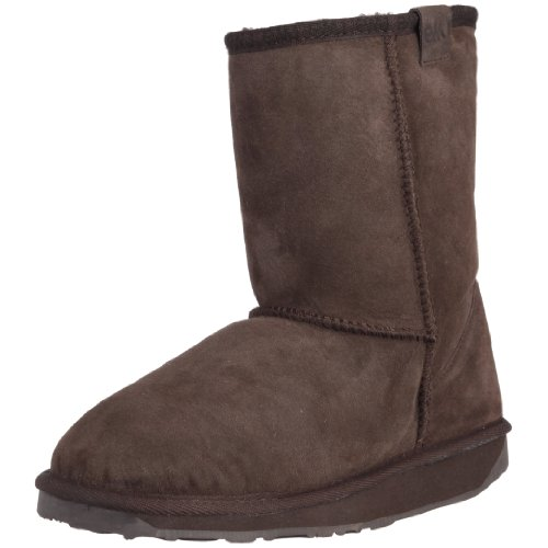 Womens W10002 Boots CHES Chestnut CHES Shoes Lo Chocolate Womens Stinger Emu W10002 azwxnnO