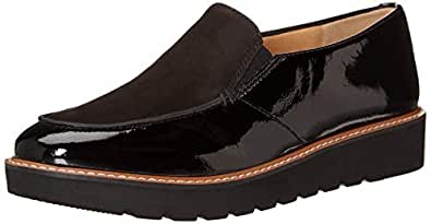 Naturalizer Women's Aibileen Shoes, Black Patent, 6 US