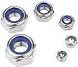 Persberg 82pcs Lock Nut kit, 5-Size, 304 Stainless