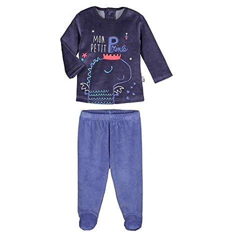 d0744544e33be Pyjama bébé 2 pièces velours avec pieds Petit Prince - Taille - 9 mois (74