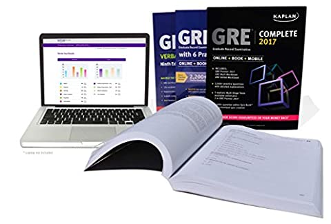 GRE Complete 2017: The Ultimate in Comprehensive Self-Study for GRE (Online + Book + Mobile) (Kaplan Test (Gre Quantitative Practice)