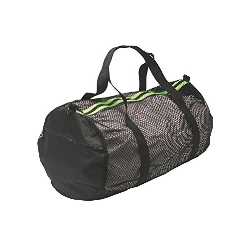 Innovative Scuba Mesh Duffle Gear Bag for Scuba Diving, Snorkel, Swimming, Beach and Sports Equipment, BG0271