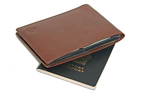IFZA Passport Wallet Genuine Leather