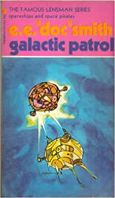 "Galactic Patrol by E. E. ""Doc"" Smith science fiction and fantasy book and audiobook reviews"