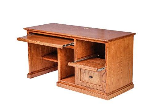 Forest Designs Mission Oak Desk: 60W x 30H x 24D 60w Merlot Oak