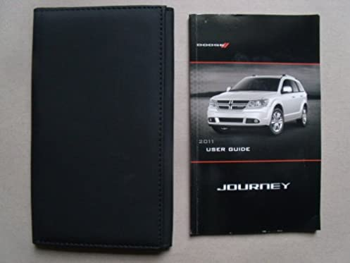 2011 dodge journey owners manual with case book set dodge amazon rh amazon com 2011 dodge journey sxt owners manual 2011 dodge journey owners manual