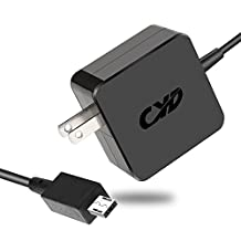Cyd 24w 12v 2a powerfast-laptop-charger for asus-chromebook-c201 c201p c201pa chromebook-flip c100 c100p c100pa-db02 p-n adp-24ew b-extra 8.2 ftac-adapter-power-cord