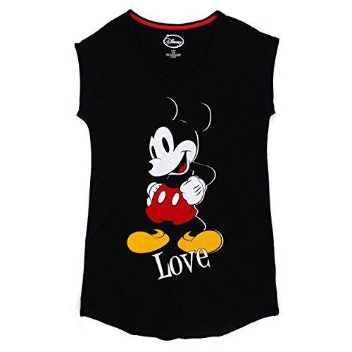 Disney Mickey Womens Nightshirt Pajamas