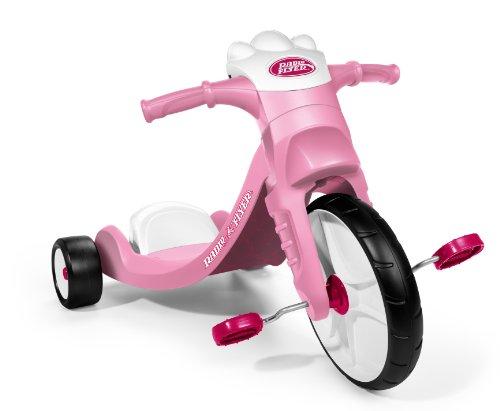 Radio Flyer Lights and Sounds Racer, Pink (Radio Flyer Girls Big Flyer)