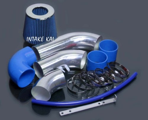 - Blue 2002 2003 2004 2005 Chevy Chevrolet Cavalier Pontiac Sunfire 2.2 2.2L Ecotec Air Intake Kit Systems