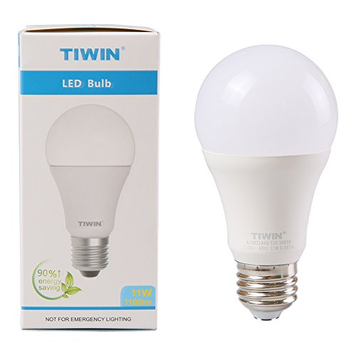 from usa tiwin a19 e26 led light bulbs 100 watt equivalent 11w. Black Bedroom Furniture Sets. Home Design Ideas