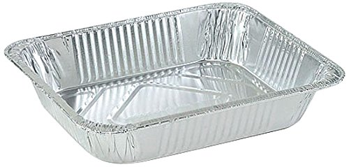 Nicole Home Collection 00711 Aluminum Deep Concentsus, 1/2 Size (Pack of 100) by Nicole Home Collection